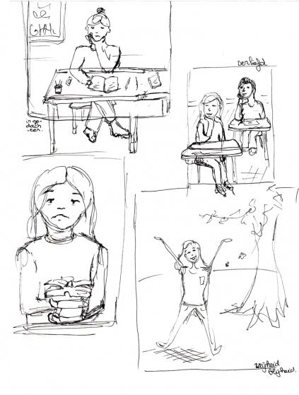 Cursus illustreren 2013 killian bravenboer for Cursus interieur tekenen